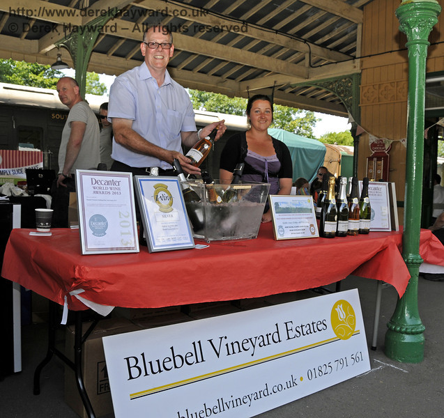 Bluebell Vineyard Estates.  Sussex Food Festival, Horsted Keynes, 06.07.2013  9425