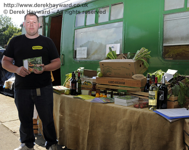 Riverford Organic Farms.  Sussex Food Festival, Horsted Keynes, 06.07.2013  9447
