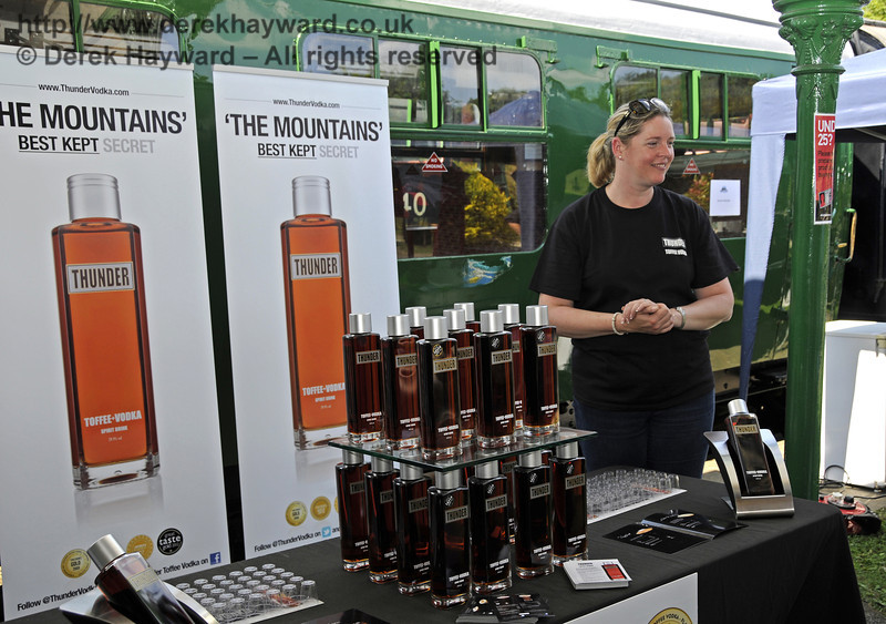 Thunder Toffee Vodka.  Sussex Food Festival, Horsted Keynes, 06.07.2013  9416