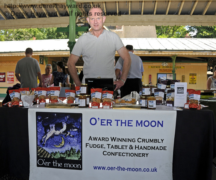 O'er the Moon Confectionery.  Sussex Food Festival, Horsted Keynes, 06.07.2013  9433