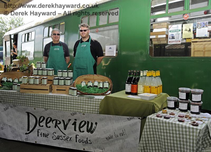 Deerview Fine Sussex Foods.  Sussex Food Festival, Horsted Keynes, 06.07.2013  9446