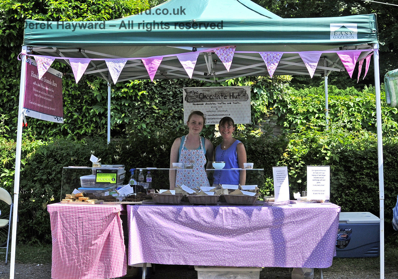 The Chocolate Hut.  Sussex Food Festival, Horsted Keynes, 06.07.2013  9481/E2