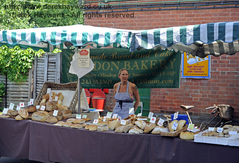 Slindon Bakery.  Sussex Food Festival, Horsted Keynes, 06.07.2013  7606
