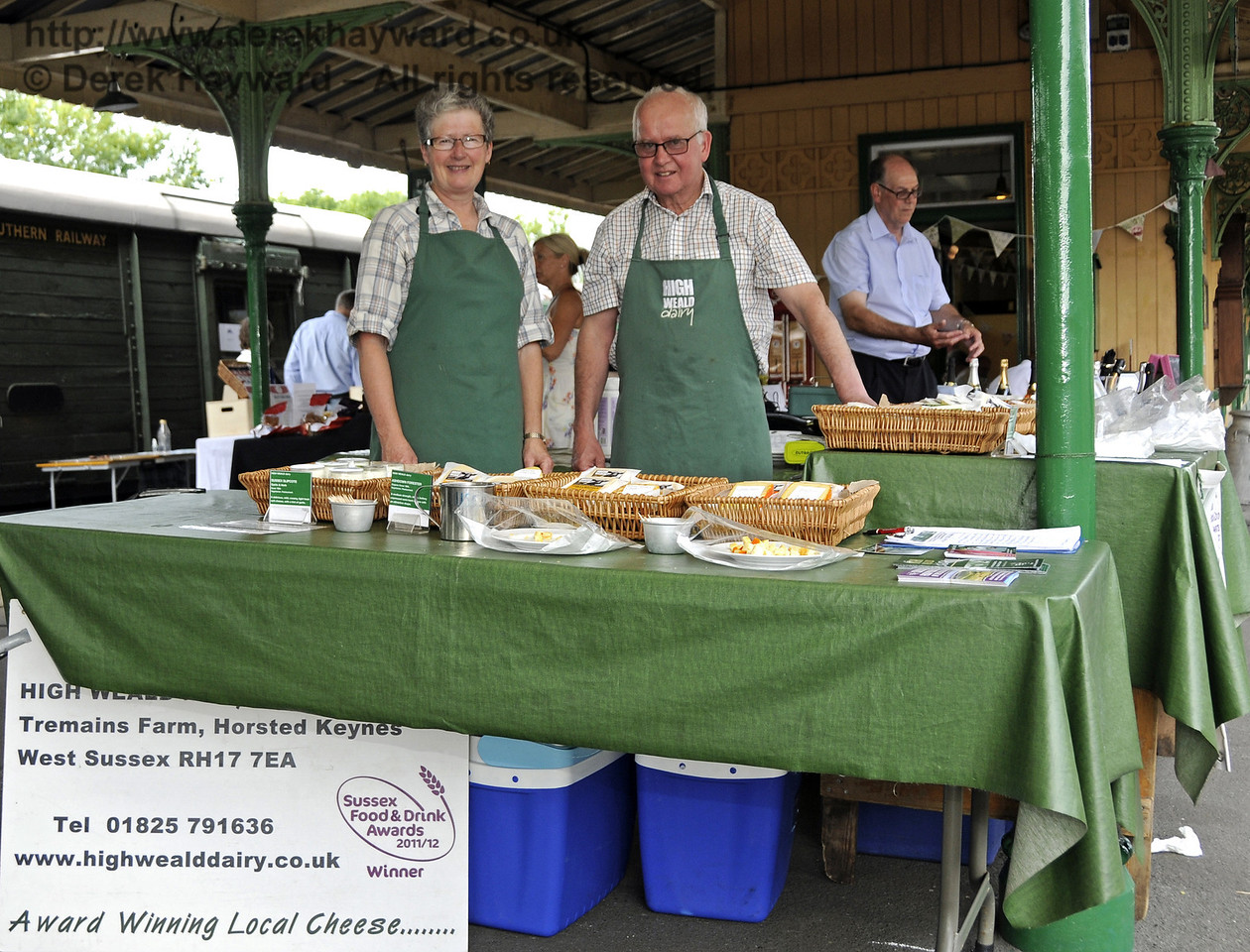 High Weald Dairy, Tremains Farm.  Sussex Food Festival, Horsted Keynes, 07.07.2013  9546
