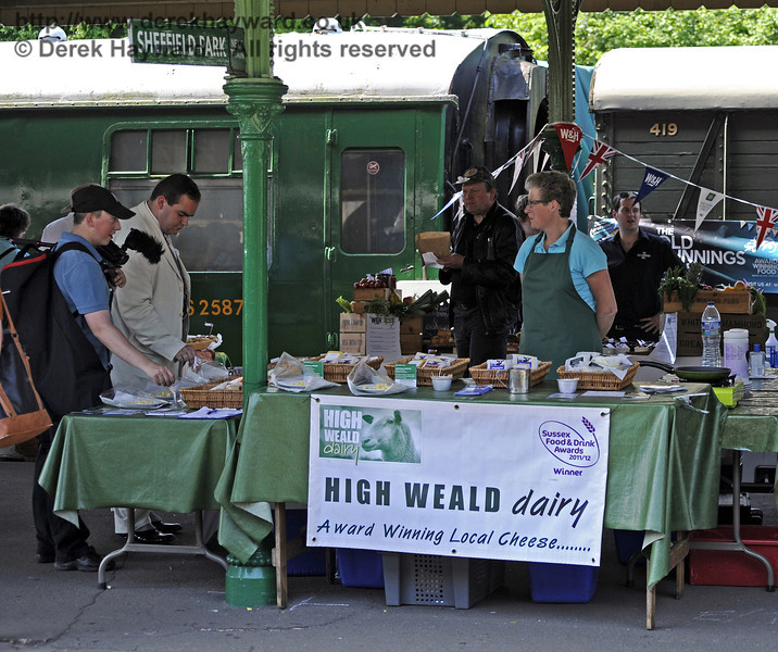 High Weald Dairy, Tremains Farm.  Sussex Food Festival, Horsted Keynes, 06.07.2013  7612