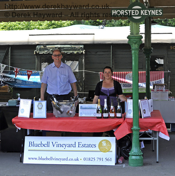 Bluebell Vineyard Estates.  Sussex Food Festival, Horsted Keynes, 06.07.2013  7610