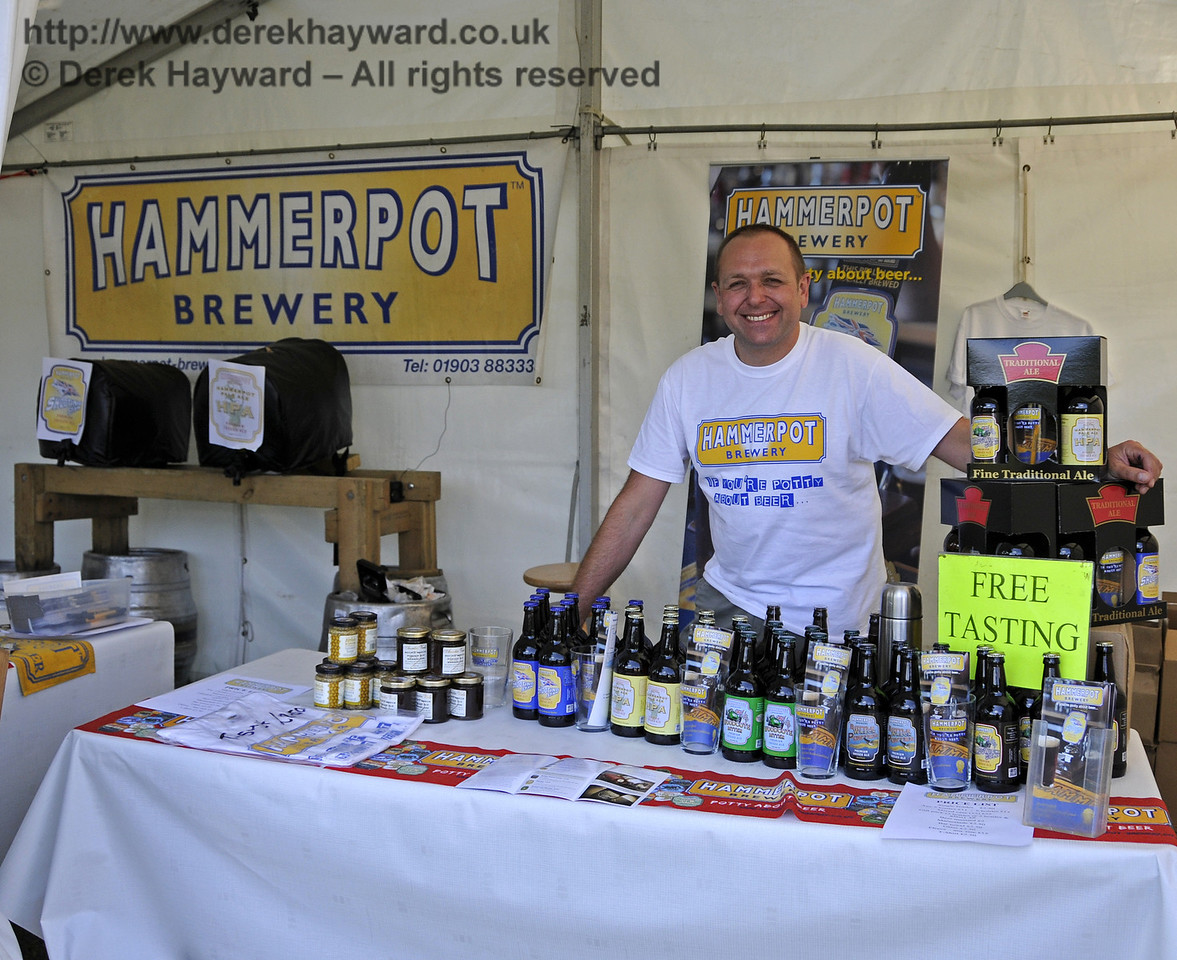 Hammerpot Brewery.  Sussex Food Festival, Horsted Keynes, 06.07.2013  9459