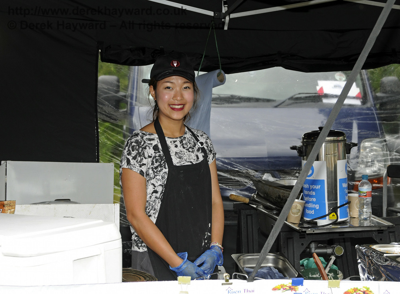Ruen Thai Catering.  Sussex Food Festival, Horsted Keynes, 05.07.2014  11055