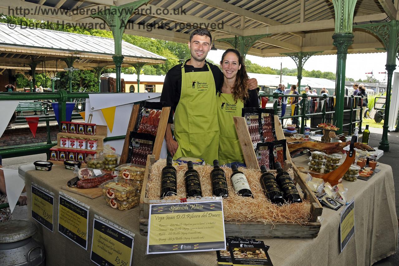 Iberica Delights, Spanish Food Importers.  Sussex Food Festival, Horsted Keynes, 05.07.2014  11019