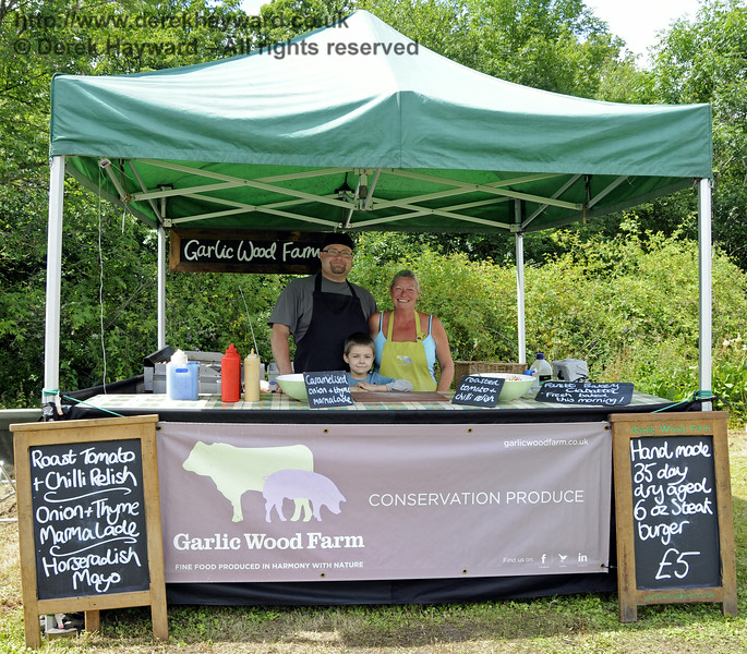 Garlic Wood Farm.  Sussex Food Festival, Horsted Keynes, 06.07.2014  11169