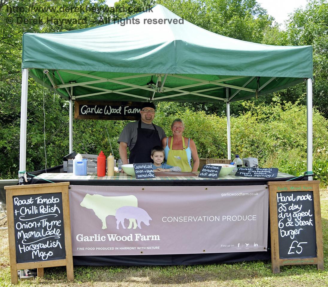 Garlic Wood Farm.  Sussex Food Festival, Horsted Keynes, 06.07.2014  11169