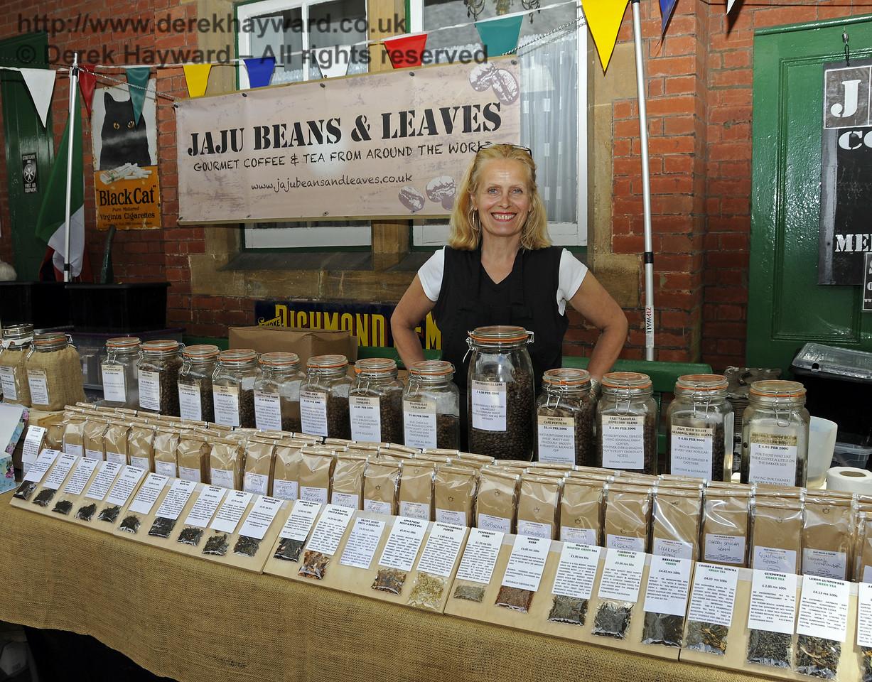Jaju Beans and Leaves, Coffee and Tea Merchants.  Sussex Food Festival, Horsted Keynes, 05.07.2014  10971