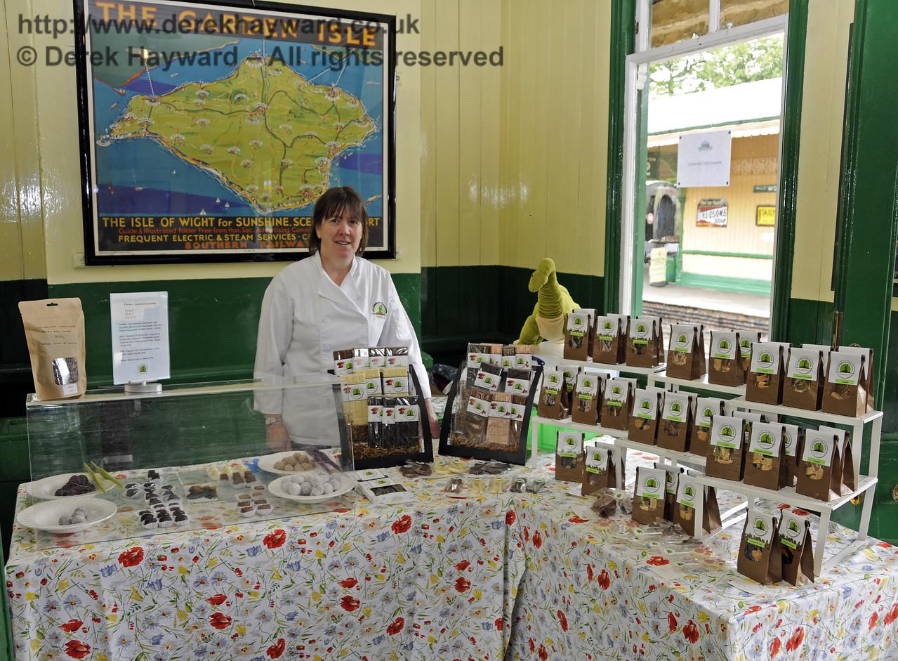 Wimblehurst Chocolates.  Sussex Food Festival, Horsted Keynes, 05.07.2014  11068