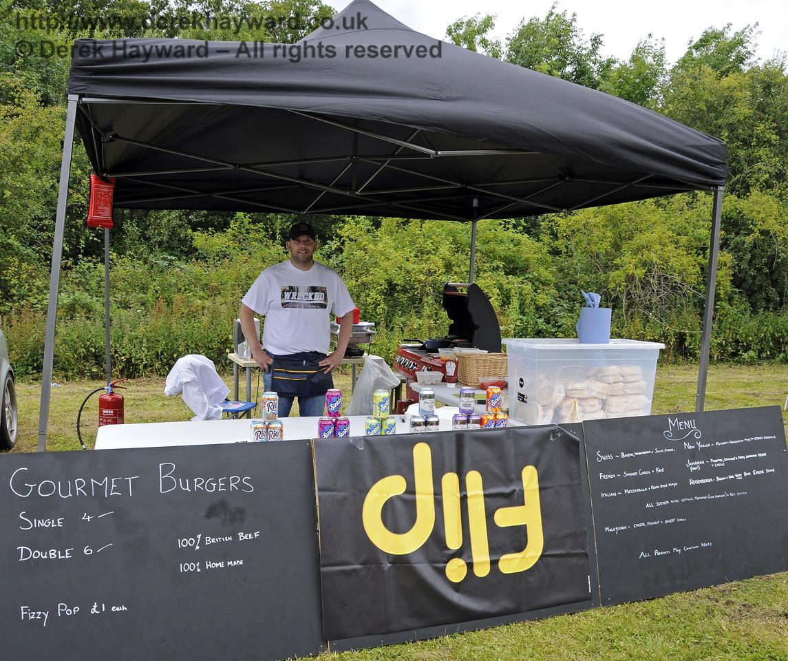 Flip Gourmet Burgers.  Sussex Food Festival, Horsted Keynes, 05.07.2014  11037