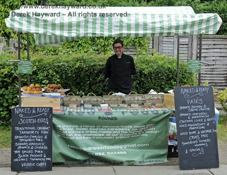 Naked and Ready.  Sussex Food Festival, Horsted Keynes, 05.07.2014  11075