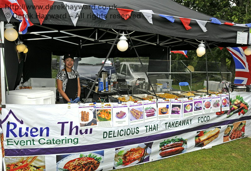 Ruen Thai Catering.  Sussex Food Festival, Horsted Keynes, 05.07.2014  11054