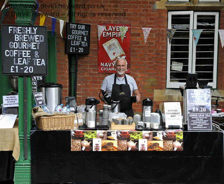 Jaju Beans and Leaves, Coffee and Tea Merchants.  Sussex Food Festival, Horsted Keynes, 06.07.2014  9849