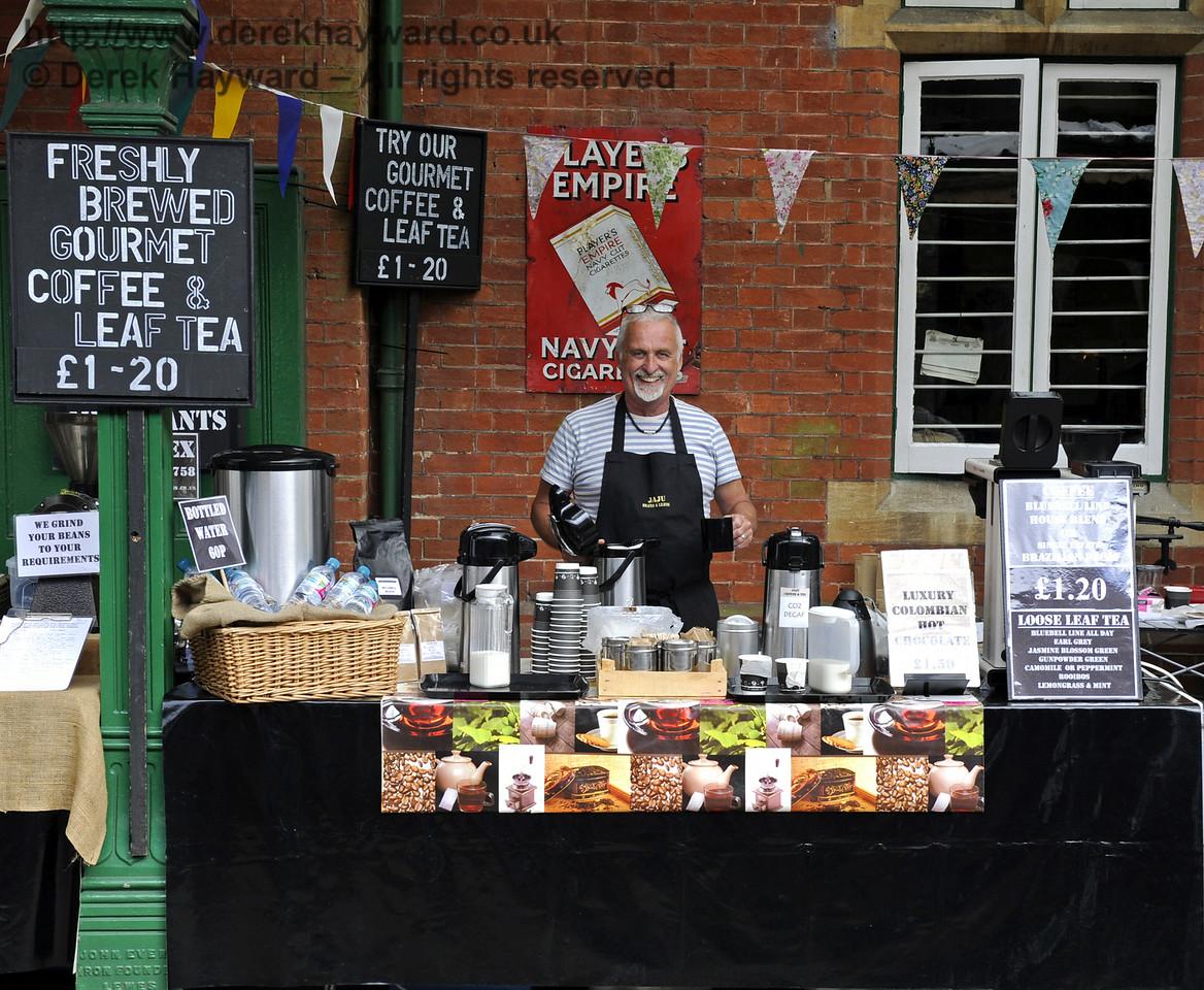 Jaju Beans and Leaves, Coffee and Tea Merchants.  Sussex Food Festival, Horsted Keynes, 06.07.2014  9849