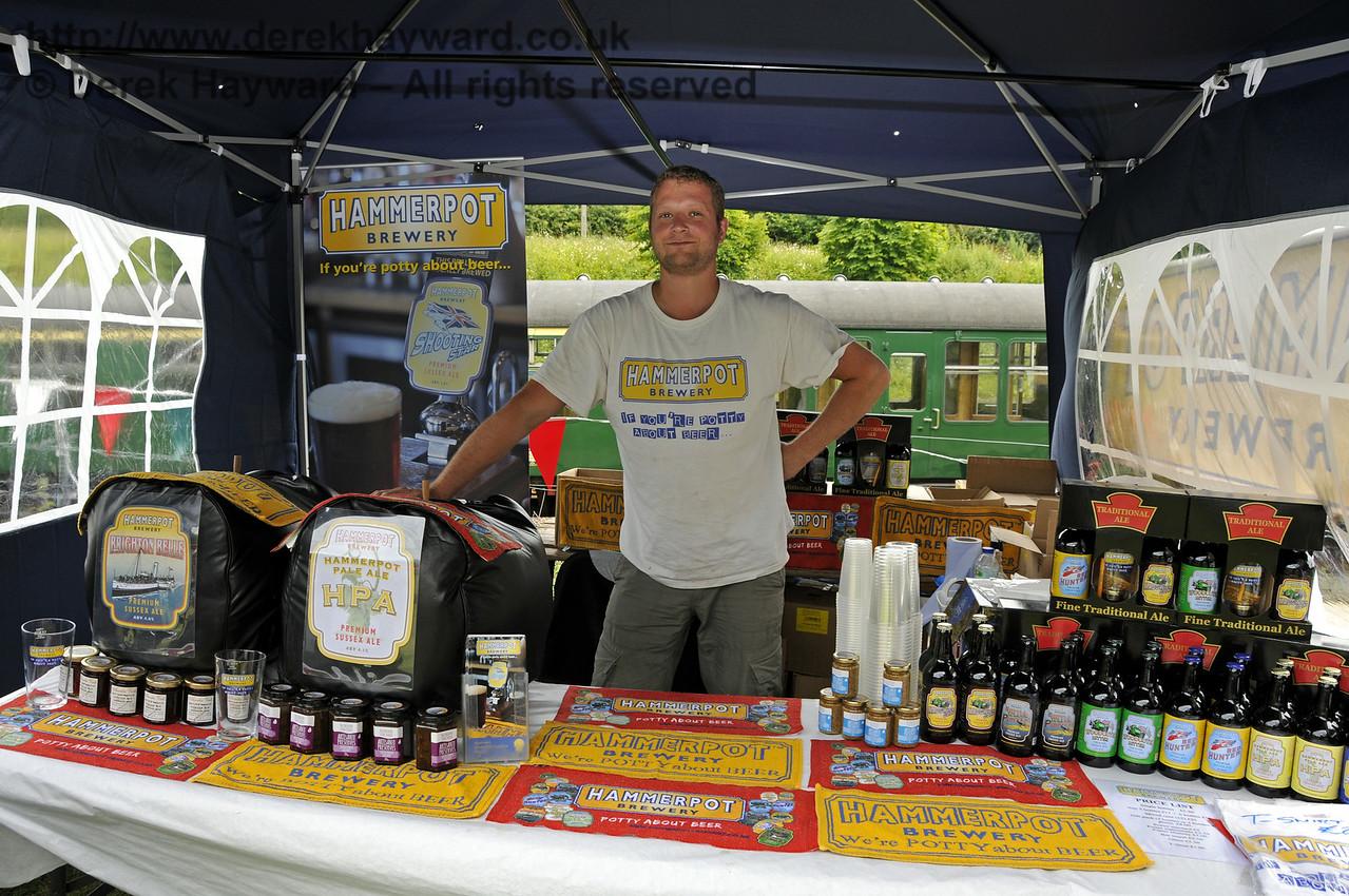 Hammerpot Brewery.  Sussex Food Festival, Horsted Keynes, 05.07.2014  11035