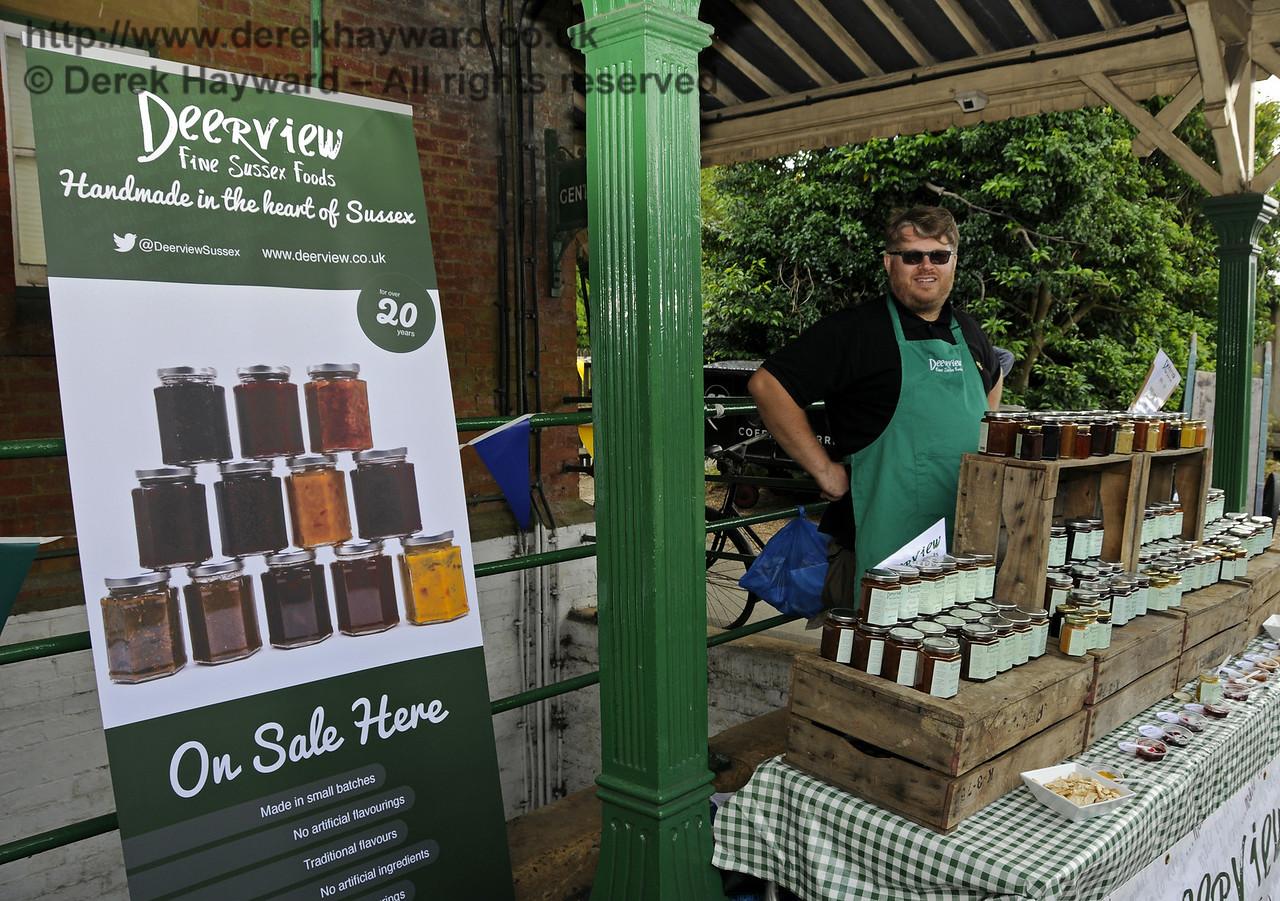 Deerview Fine Sussex Foods.  Sussex Food Festival, Horsted Keynes, 05.07.2014  10975