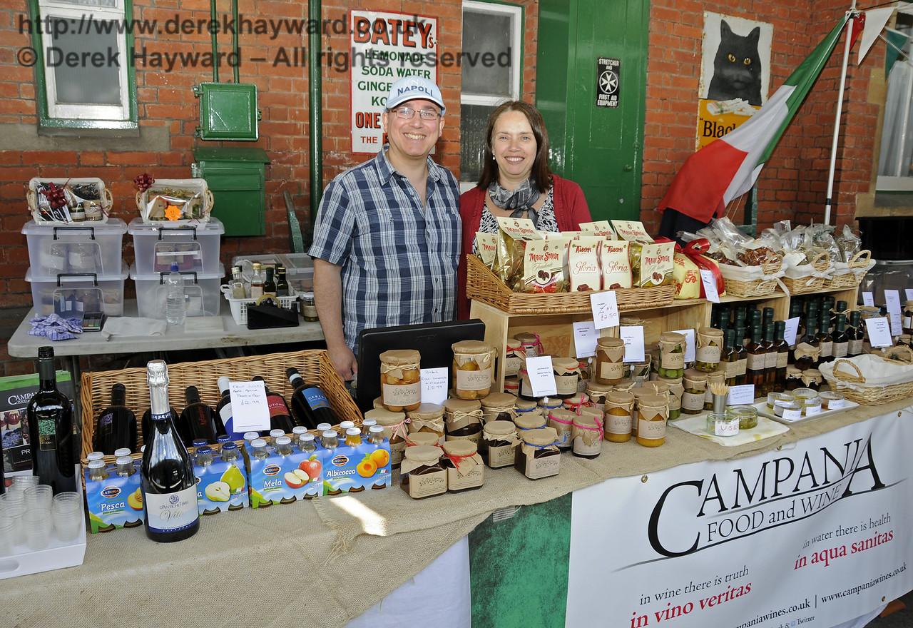 Campania Food and Wine.  Sussex Food Festival, Horsted Keynes, 05.07.2014  11002