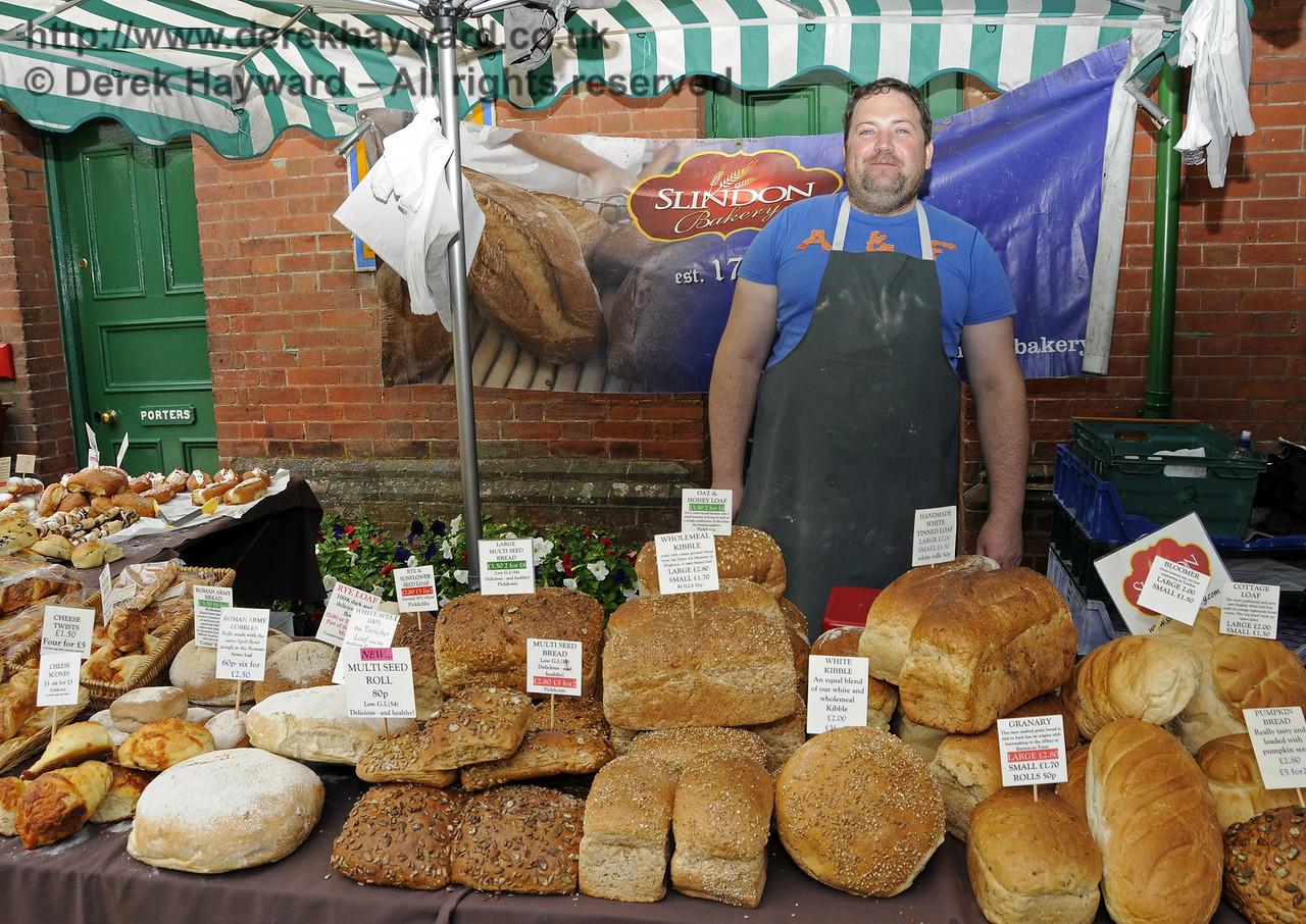 Slindon Bakery.  Sussex Food Festival, Horsted Keynes, 05.07.2014  10992