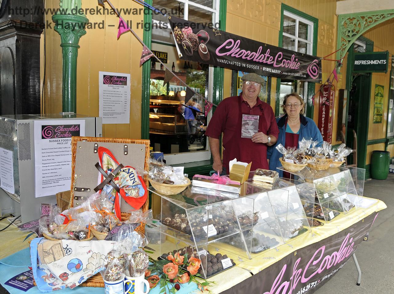 Chocolate Cookie.  Sussex Food Festival, Horsted Keynes, 05.07.2014  10980