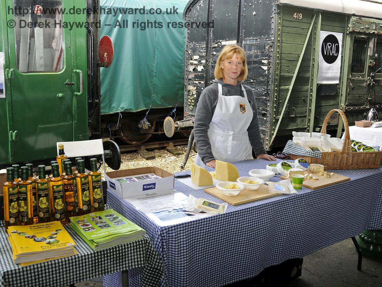 Plumpton College Dairy.  Sussex Food Festival, Horsted Keynes, 05.07.2014  11021
