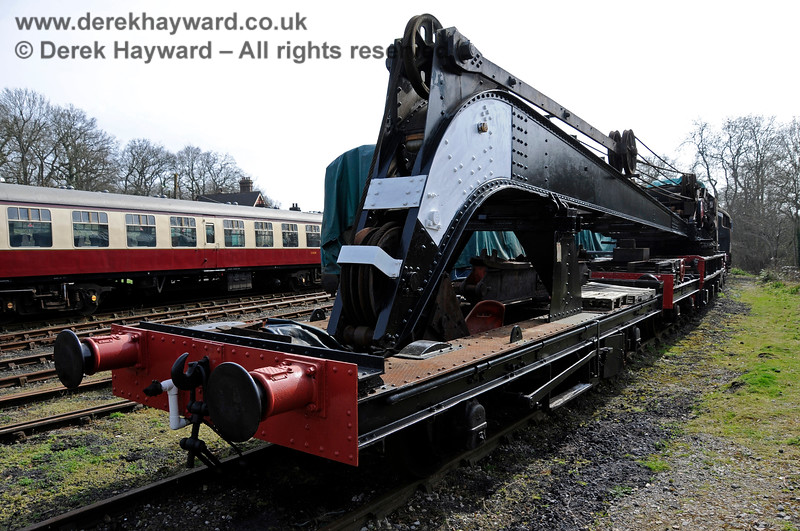 The Ransomes and Rapier Ltd Steam Crane, Horsted Keynes,  10.04.2015  12167