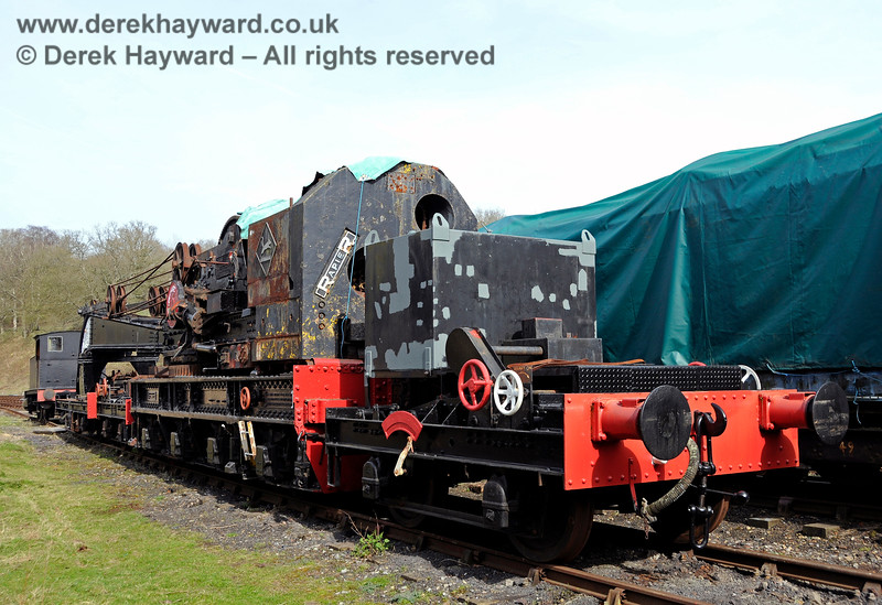 The Ransomes and Rapier Ltd Steam Crane, Horsted Keynes,  10.04.2015  12165