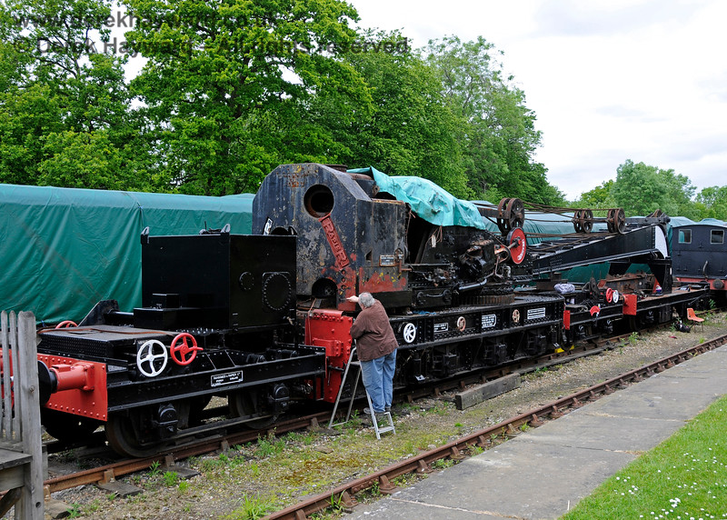 The Ransomes and Rapier Ltd Steam Crane, Horsted Keynes,  25.05.2015  12667