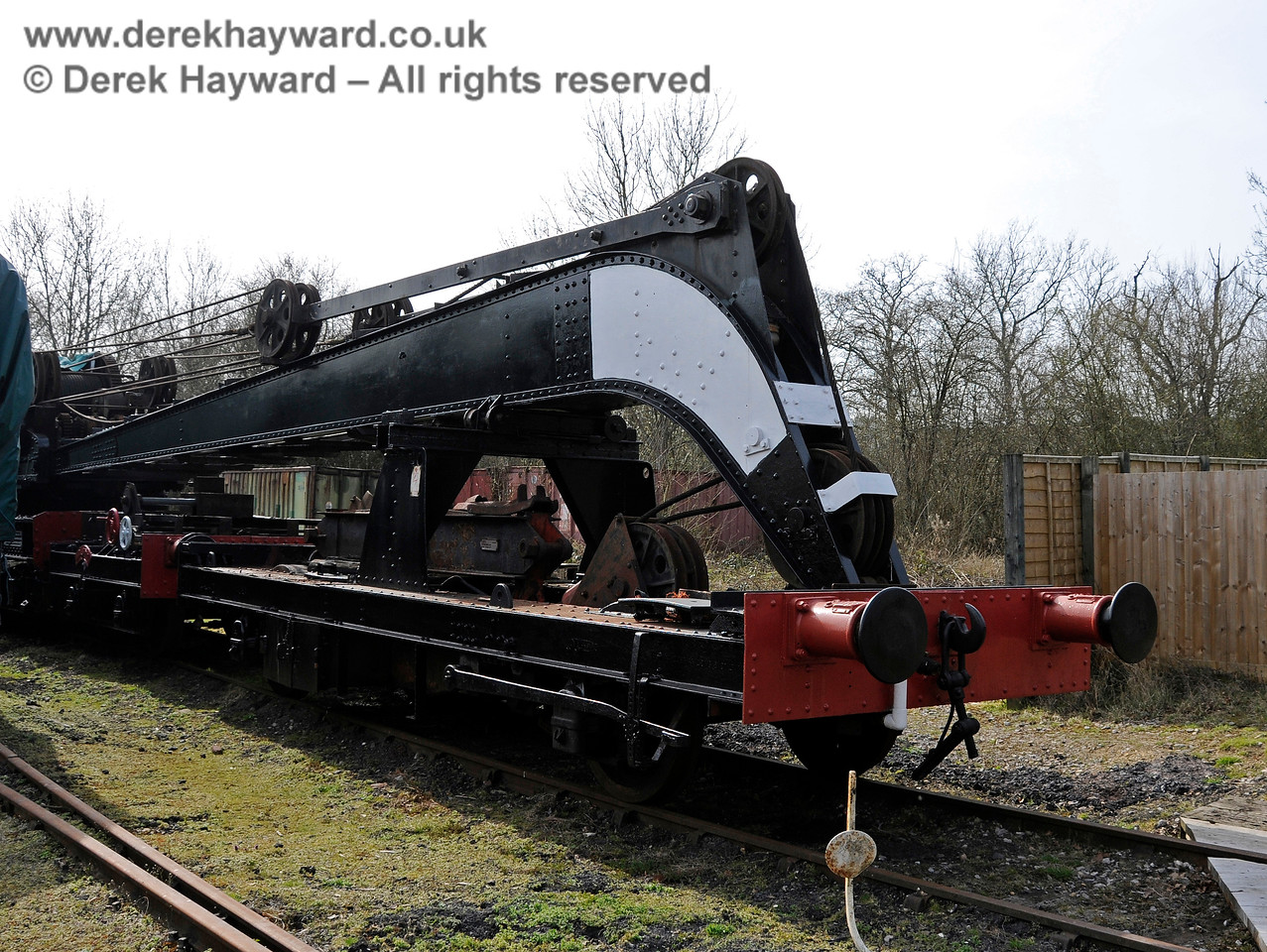 The Ransomes and Rapier Ltd Steam Crane, Horsted Keynes,  10.04.2015  12168