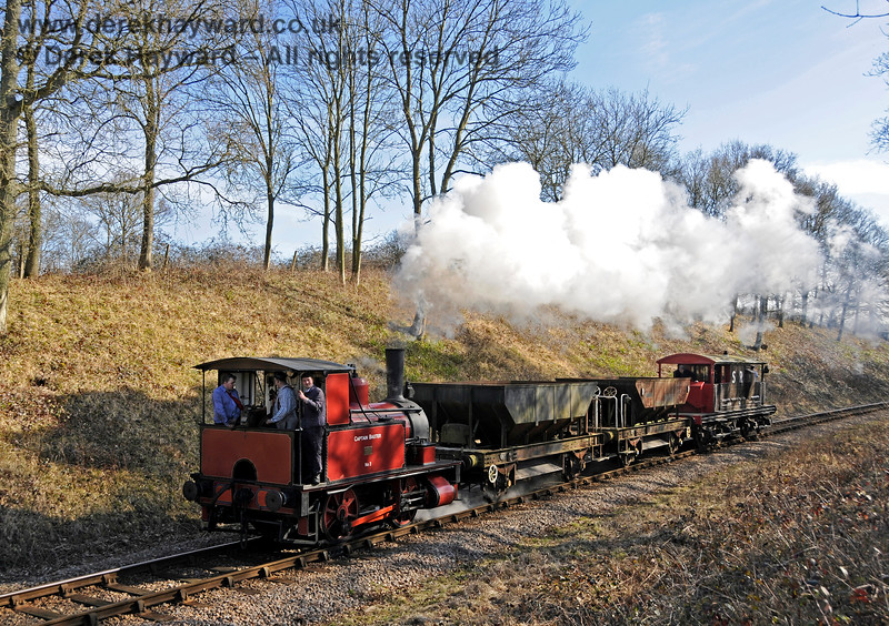 Captain Baxter at Vaux End with a training turn. 07.03.2015 12018