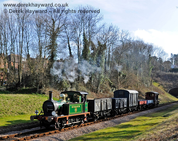 178 passes through West Hoathly. 10.03.2012 3735