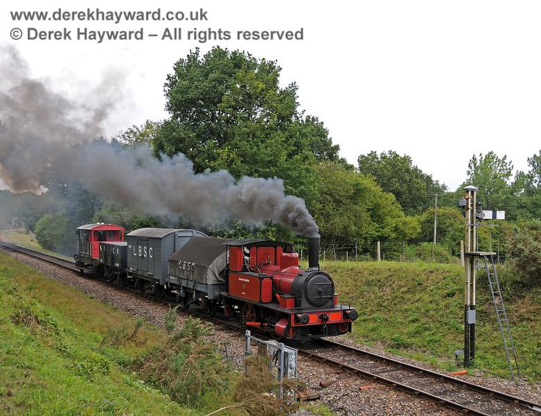 Baxter steams towards the Kingscote Advance Starter. 15.08.2010 3912