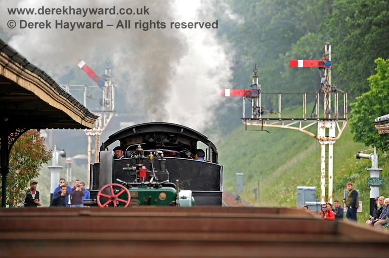 30541 departs from Horsted Keynes. 16.06.2019 17113