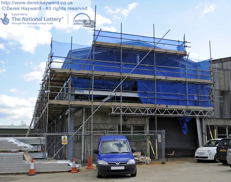 Looking south towards the front of the building.  12.05.2012  4712