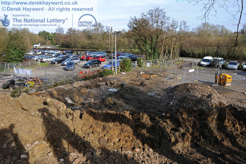 The surface of the staff car park currently leaves something to be desired, and it is rumoured that Top Gear will be testing four wheel drives here soon.... 24.02.2011  6022