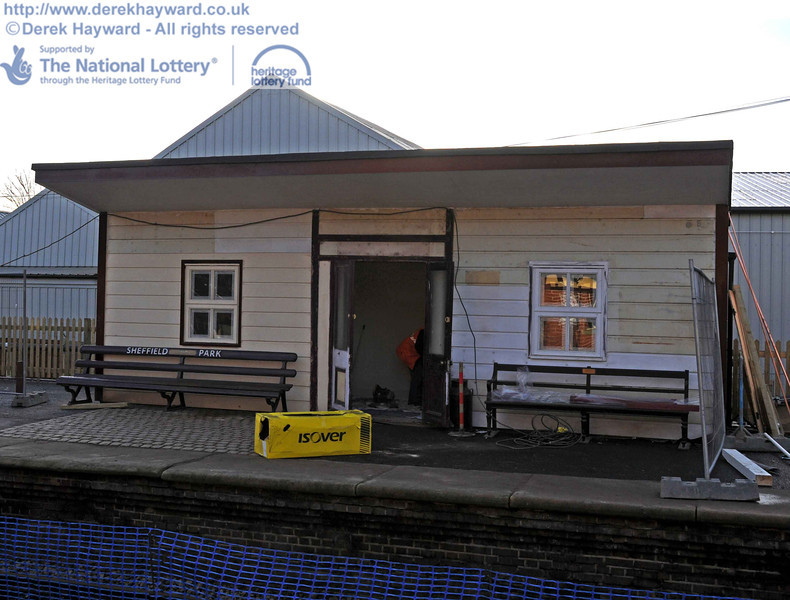 The Isfield building viewed from Platform 1. 03.02.2011  5738