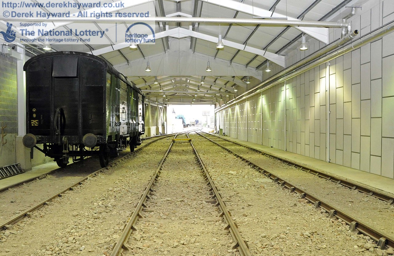 Looking south in the Carriage Shed from the middle of the shed. 24.11.2011  3164
