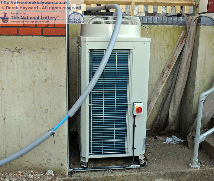 The heat pump that draws heat from the surrounding ground to heat the building. 18.01.2011  5592