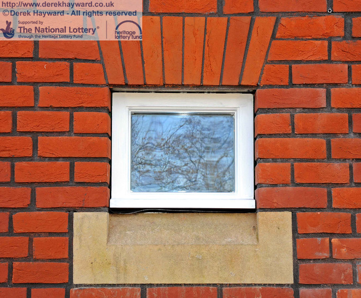 One of the new windows, complete with brick and stone detail. 03.02.2011  5676