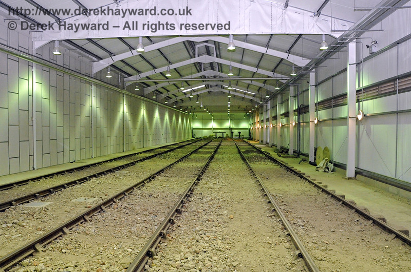 Looking north in the Carriage Shed on 21.10.2011  3020