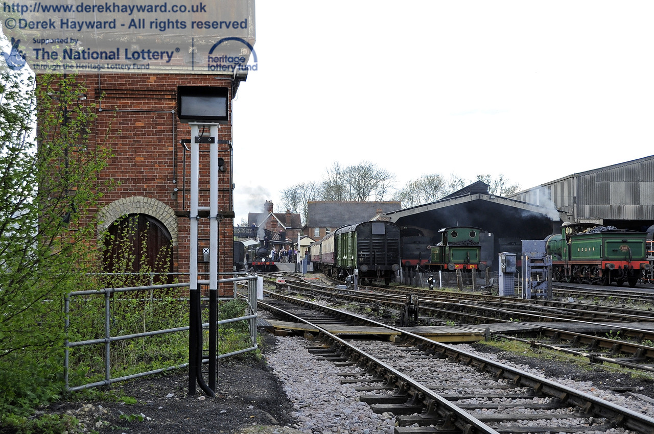 Subsequently a new indcator was also installed at the exit from the headshunt, south of the water tower. 12.05.2012  4734