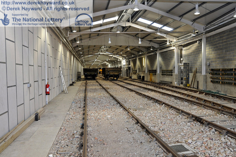 Looking north along the length of the carriage shed on 19.02.2012  3609