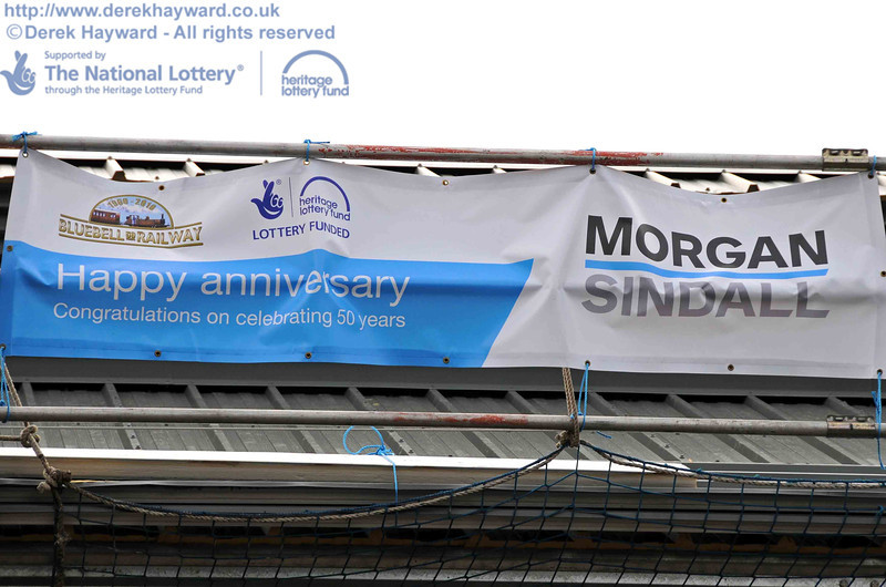 Anniversary greetings for Bluebell from it's main contractor. 15.08.2010  4083