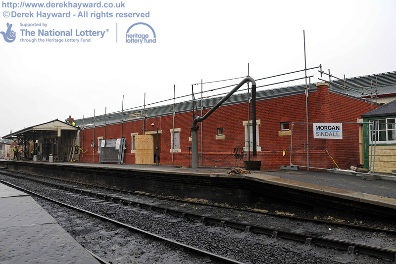 A reasonably clear view of the northern section of the Museum building is now available. 15.12.2010  5447
