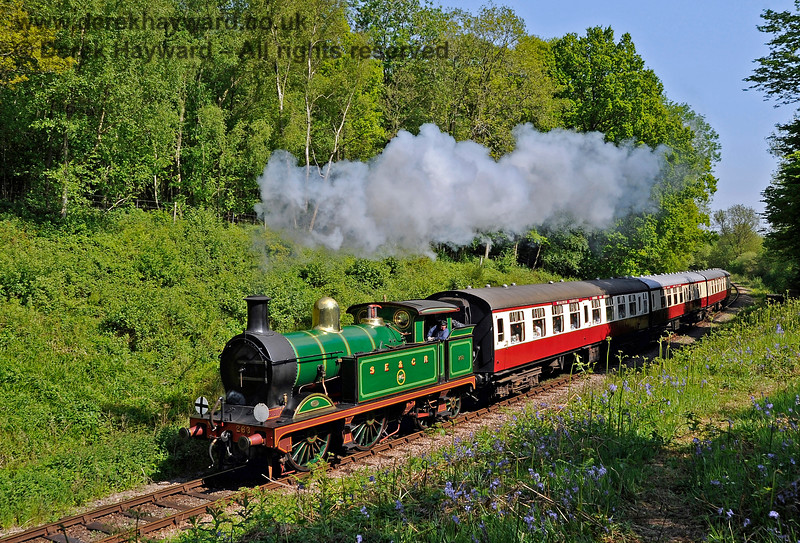 263 passes through Lindfield Wood with the Wealden Rambler. 27.05.2013 7117