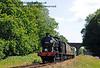 30541 steams north from Three Arch Bridge.  11.07.2015  13169