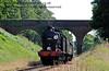 30541 steams under Three Arch Bridge.  11.07.2015  11584
